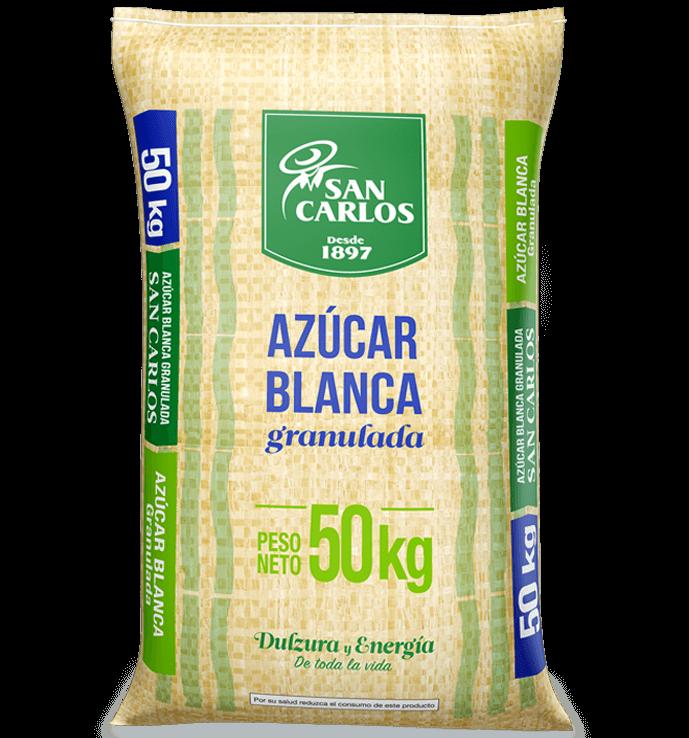 Azúcar Blanca San Carlos 50kg