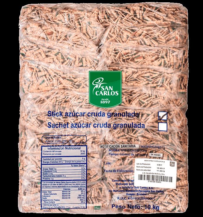 Azúcar Morena San Carlos Sticks