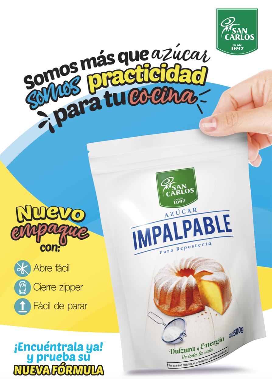 Azúcar Impalpable Nuevo Empaque