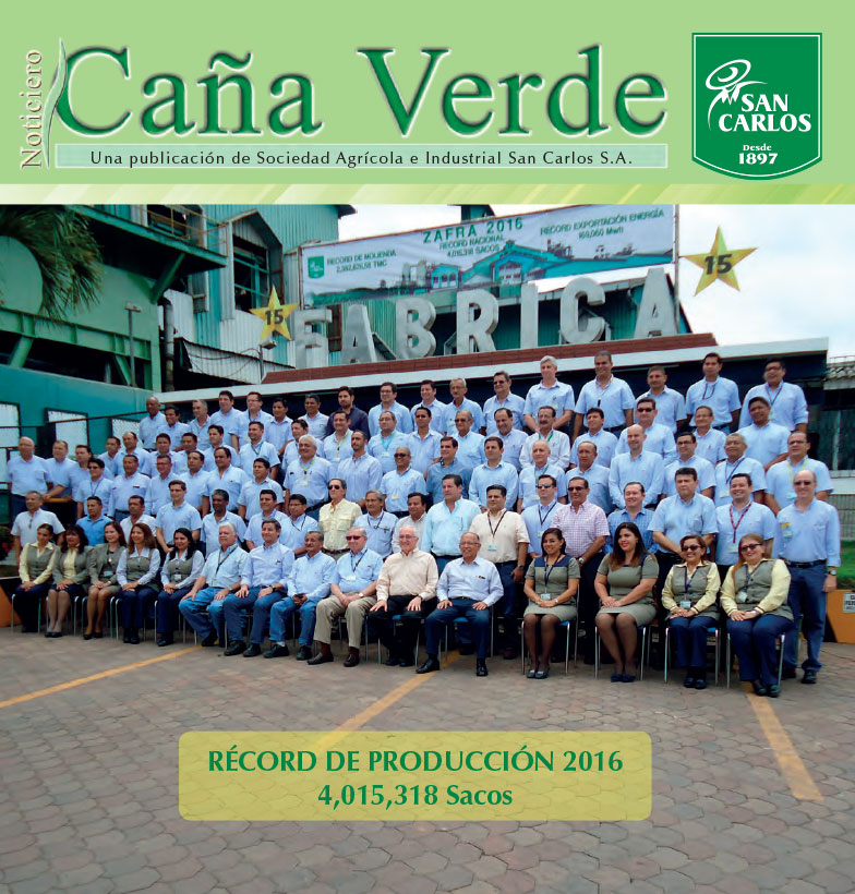Revista Caña Verde Sep 2016 – Ene 2017