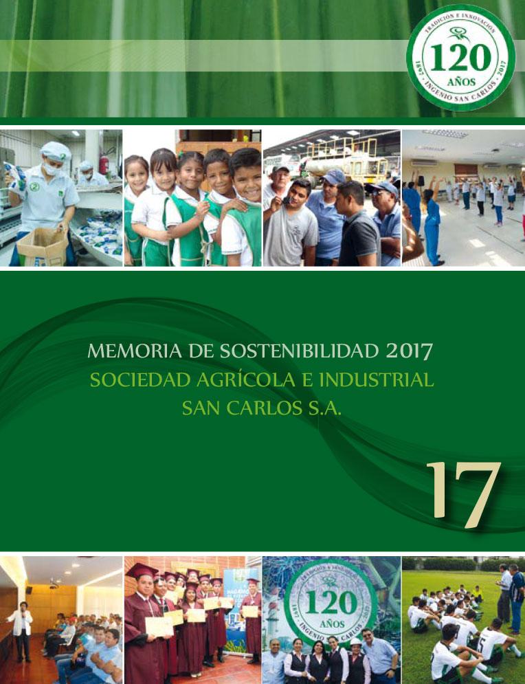 Memoria de Sostenibilidad 2017