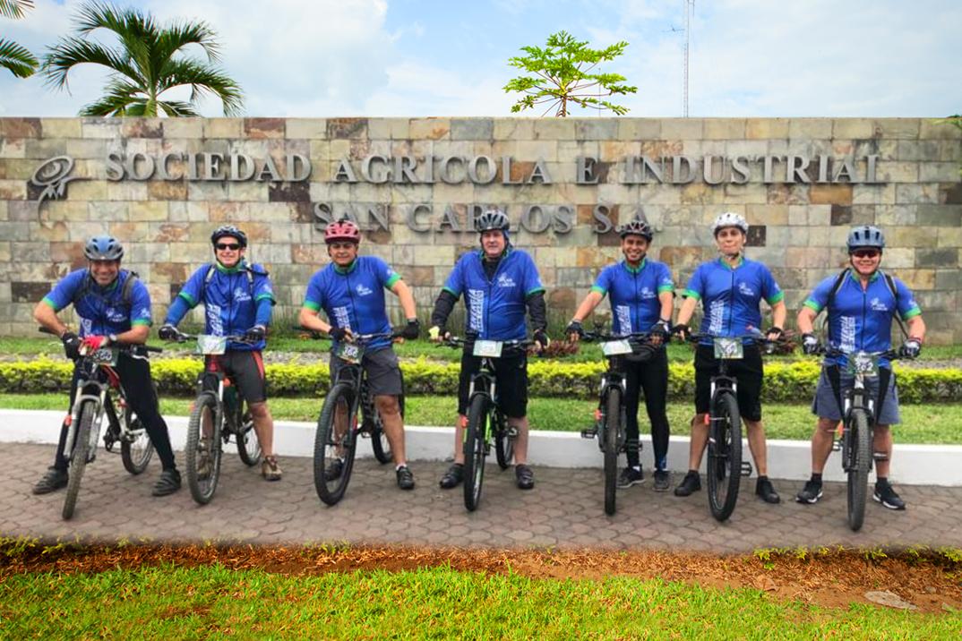¡Equipo Energía Azúcar San Carlos participa en carrera de ciclismo!