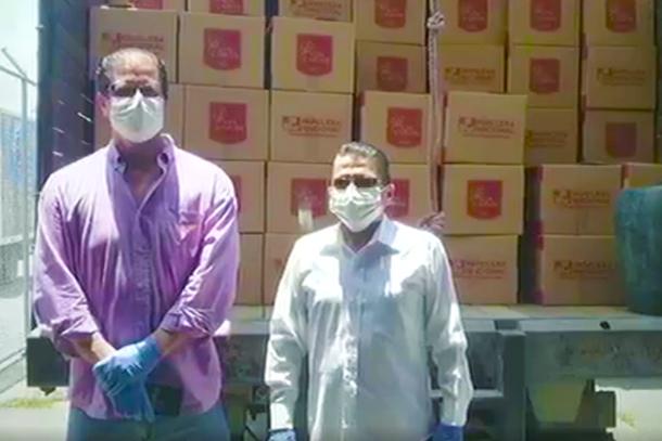 Azúcar San Carlos donó kits alimenticios para las familias de Marcelino Maridueña