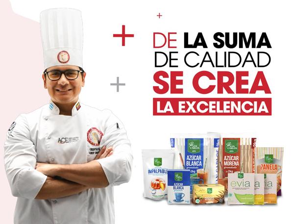 Azúcar San Carlos y La Escuela Culinaria de las Américas celebran aniversario de alianza