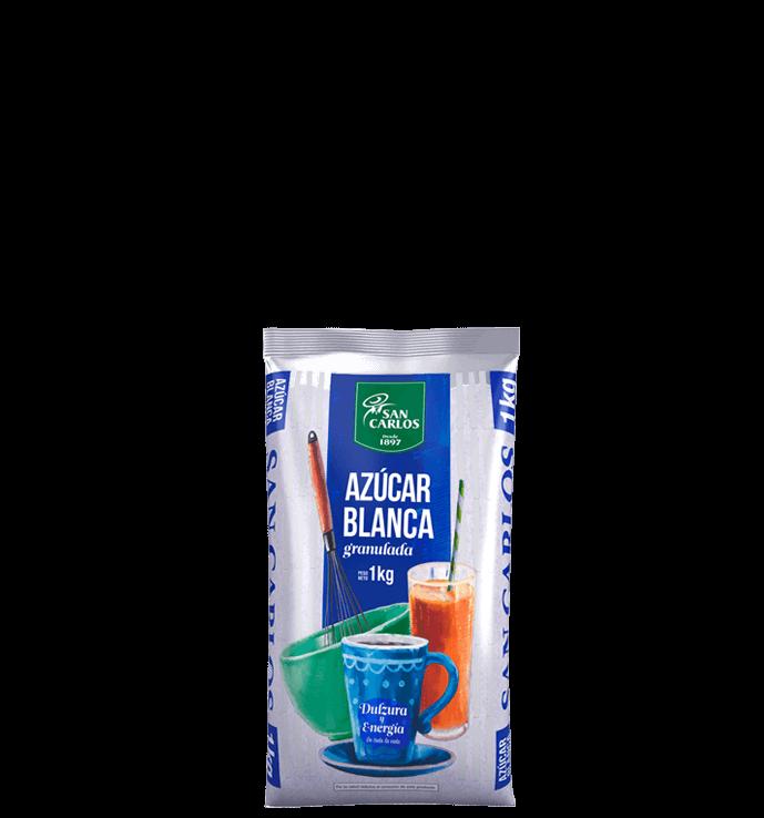 Azúcar Blanca San Carlos 1kg