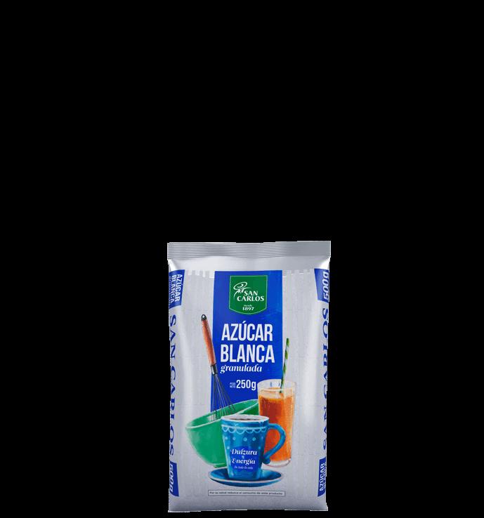 Azúcar Blanca San Carlos 250g