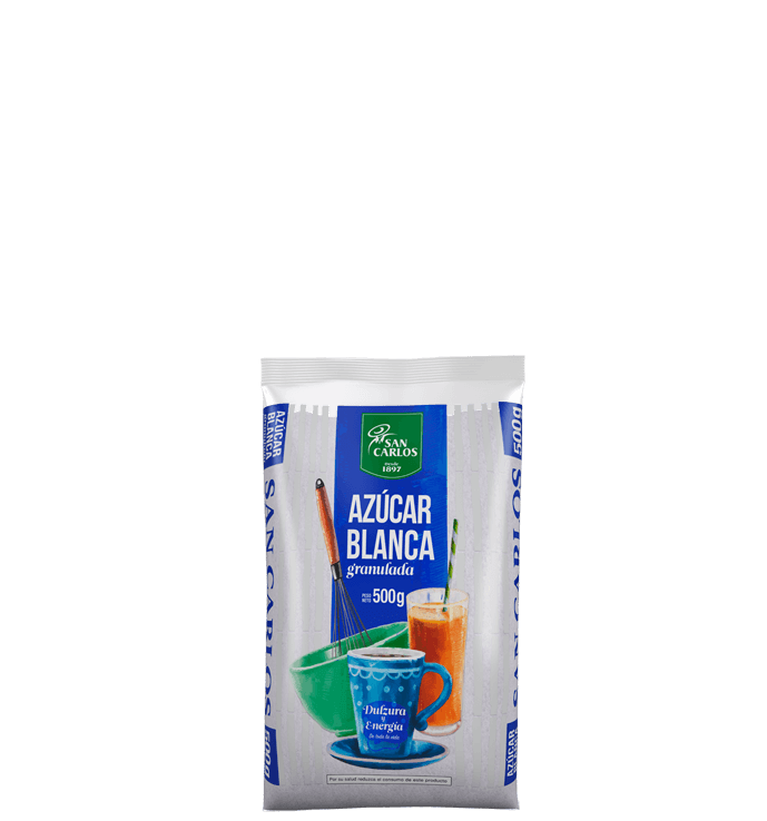 Azúcar Blanca San Carlos 500g